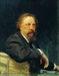 Retrato de Alekséi Konstantínovich Tolstoi