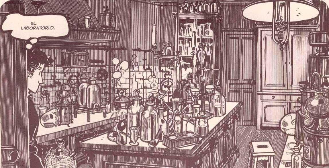 El Demonio de los Hielos de Tardi laboratorio