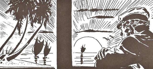 La balada del mar salado, Hugo Pratt: Y volveremos a recordar a aquellos aventureros