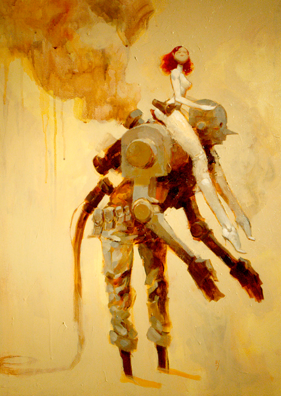 Ilustración del Australiano Ashley Wood