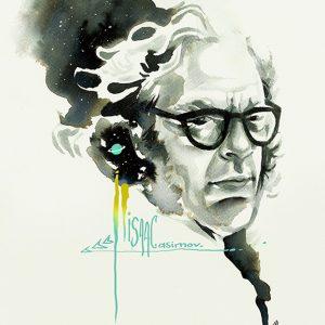 Asimov, Maria Emege para Fabulantes
