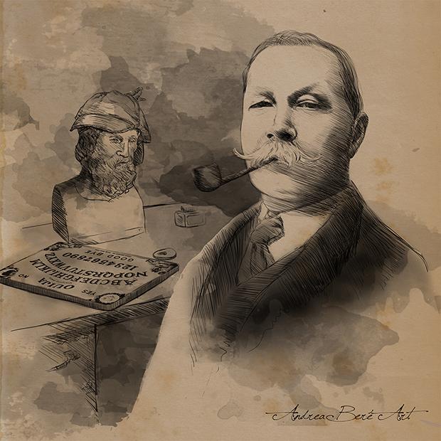 Conan Doyle por Andrea Bere