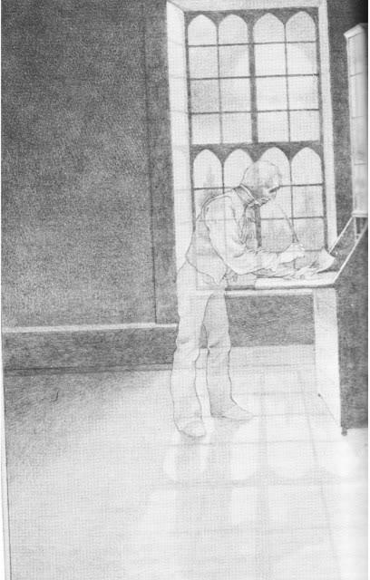 Mr Jones, ilustracion de Laszlo Kubinyi.