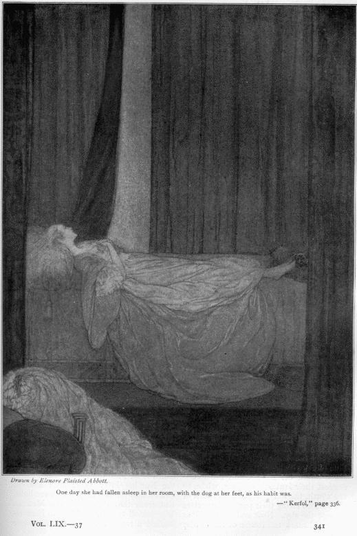 Kerfol, 1916. Ilustracion de Elenore Plaisted Abbott.