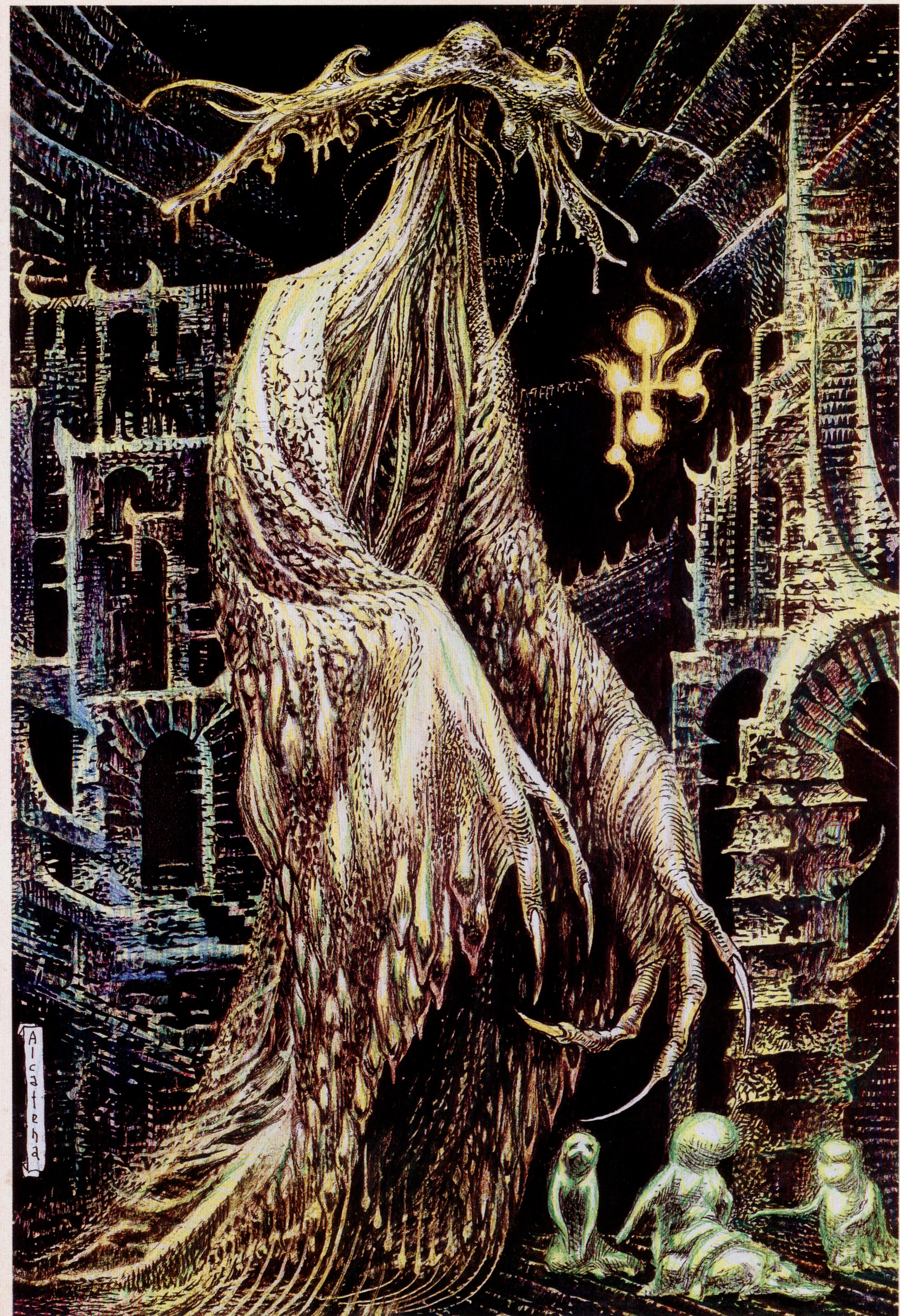 Hastur Bestiario Lovecraft