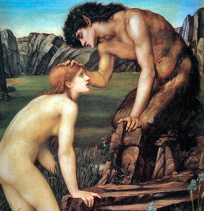 Psyche-and-Pan-Edward-Burne-Jones