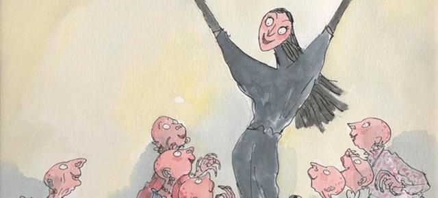 Roald Dahl: Una historia extraordinaria