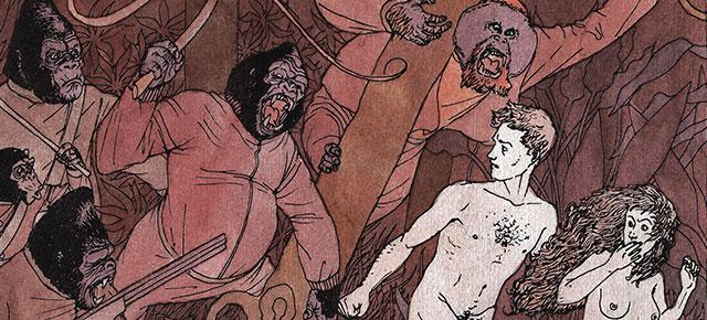 """El planeta de los simios, Pierre Boulle: """"Simiolacro"""", o el arte de la repetición"""