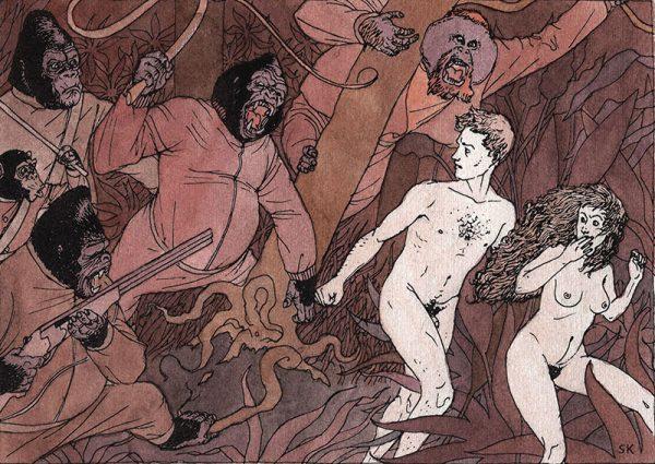 Ilustracion de Bastian Kupfer para Fabulantes
