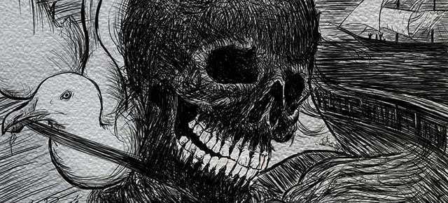 El relato de Arthur Gordon Pym, Edgar Allan Poe: La muerte en el hielo, mi nombre en la roca