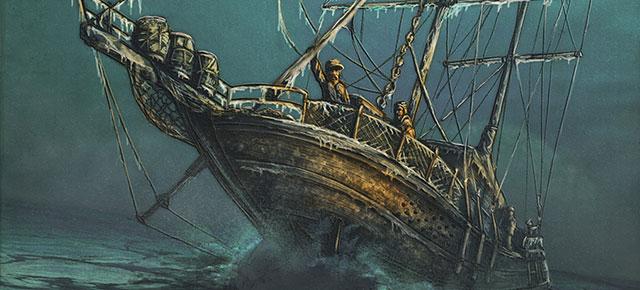 La esfinge de los hielos, Jules Verne: La Antártida partida