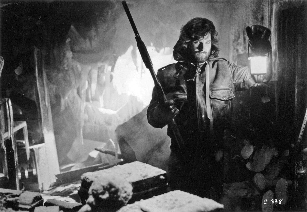 La-cosa-Kurt Russell.como R.J. MacReady