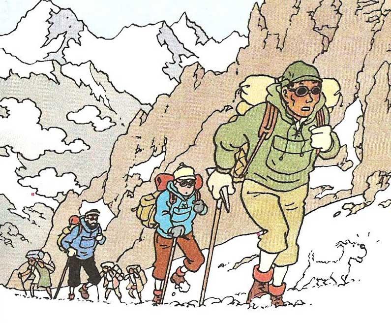 Tintin-en-el-Tibet-4 Fabulantes