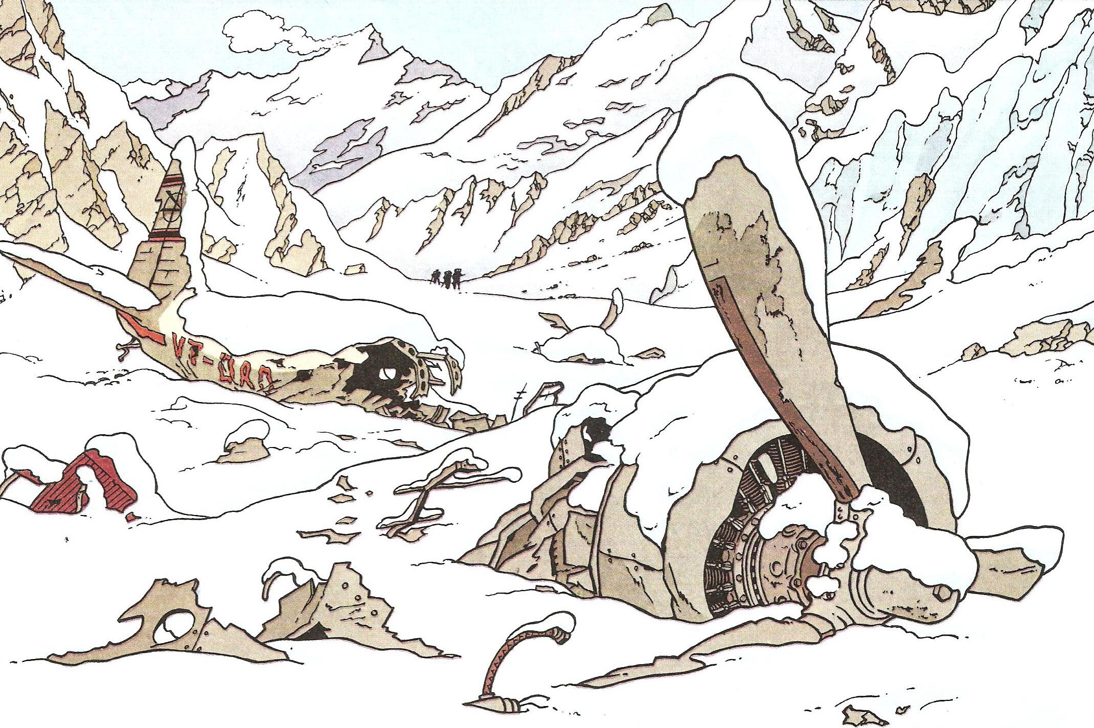 Tintin en el Tibet-5-fabulantes