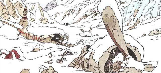 Tintín en el Tíbet, Hergé: Largo viaje hacia la Amistad