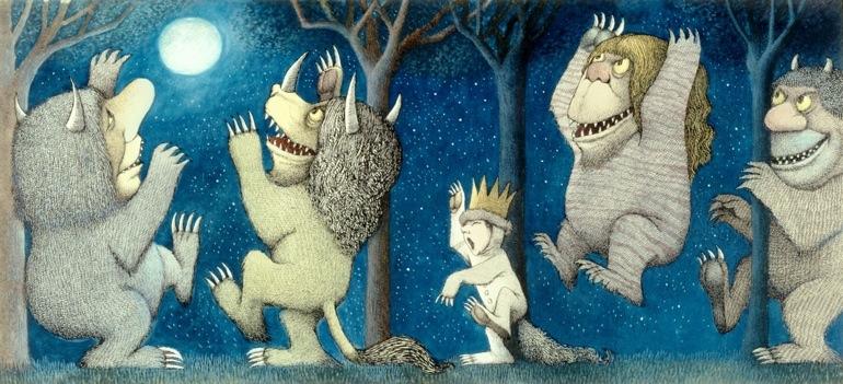 Donde Viven Los Monstruos Maurice Sendak Revelando El Lado Más Oscuro De La Infancia Fabulantes