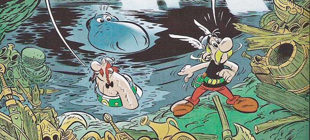 Astérix y los pictos, Jean-Yves Ferri/ Didier Conrad: Pies tiernos en Armórica