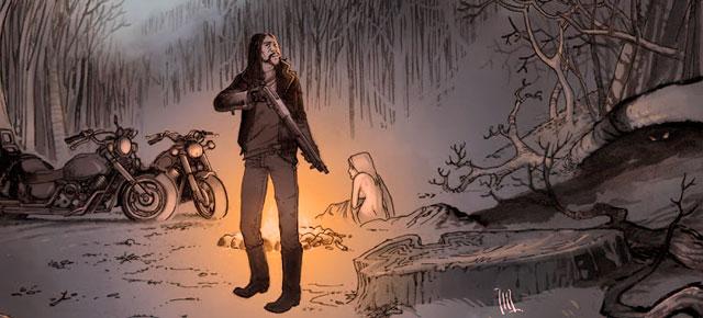 Esta noche arderá el cielo, Emilio Bueso: Carretera boreal