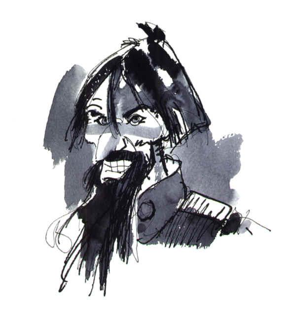 Rasputín-a-tinta