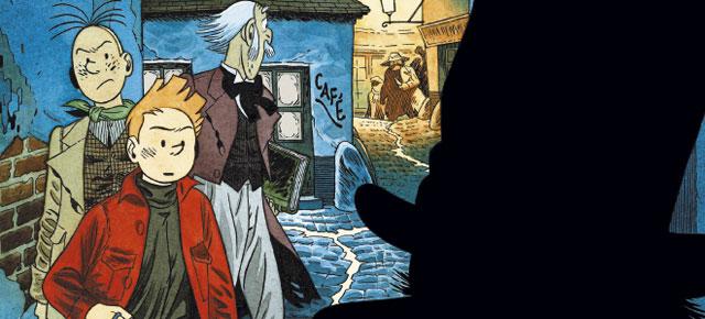 Atrapados en el pasado, Frank Le Gall: Spirou por André Franquin