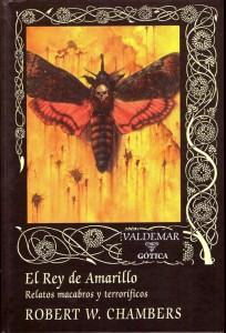 El Rey de Amarillo, de Robert W_ Chambers - Portada Valdemar