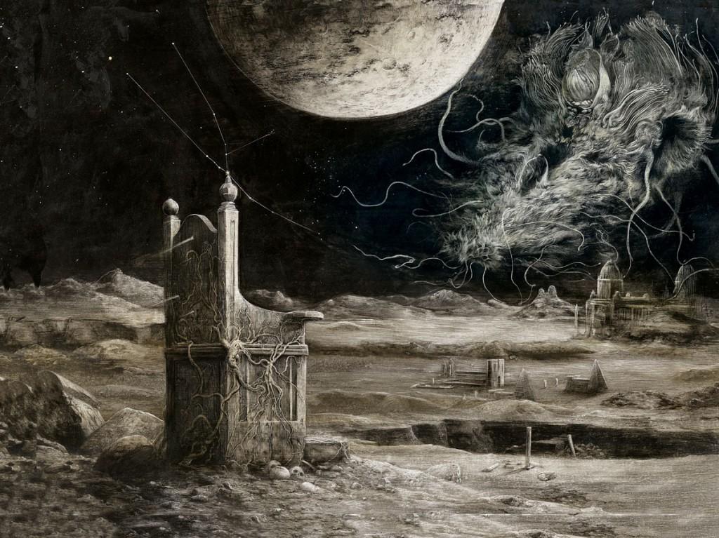 Ilustración realizada por Ilustracion realizada por Santiago Caruso
