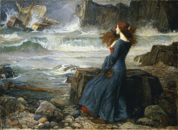 Miranda - The Tempest, 1916 (oil on canvas)