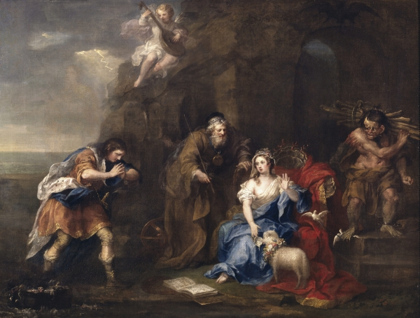 The Tempest, c.1730-35 (oil on canvas)