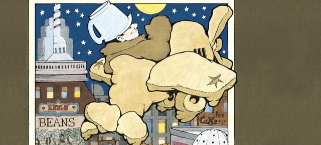 La cocina de noche, Maurice Sendak: El gran sueño de la infancia