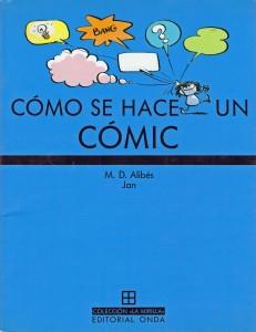 Portada-Cómo-se-hace-un-comic-JAN-María Dolors Alibés