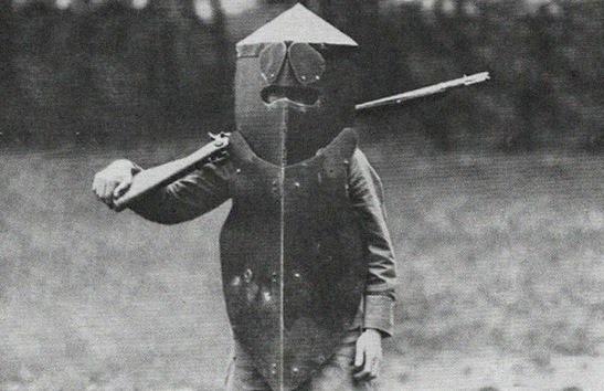 Armadura estadounidense 'brewster' para francotiradores.