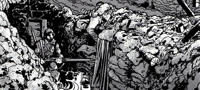 La guerra de las trincheras (1914-1918), Jacques Tardi: Los que van a morir se despiden