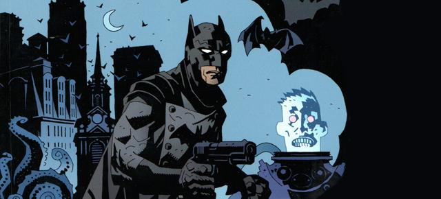 La maldición que cayó sobre Gotham, Troy Nixey/Mike Mignola: La sombra sobre Gotham