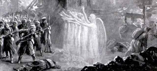 Los arqueros, Arthur Machen: Adsit Anglis Sanctus Georgius