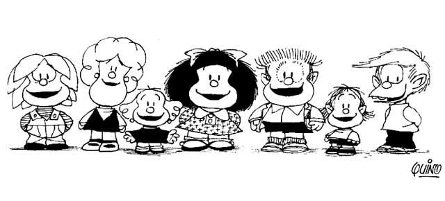50 años con Mafalda