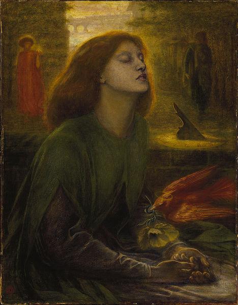 Dante Gabriel Rossetti. Beata Beatrix.