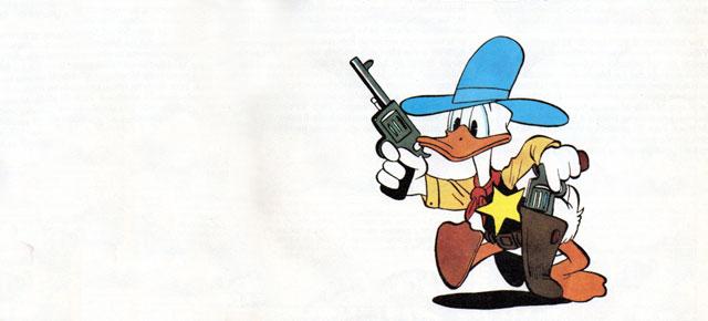 Pato Donald. El sheriff del Valle Villano, Carl Barks: El último de los ingenuos