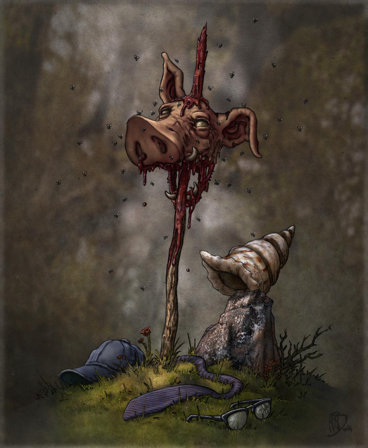 El señor de las moscas por Miguel Iturbe para Fabulantes