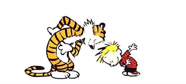 Calvin y Hobbes, Bill Watterson: Diálogos peripatéticos y deja en paz mis viñetas
