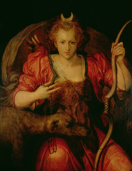 Diana, c.1560 (oil on panel)
