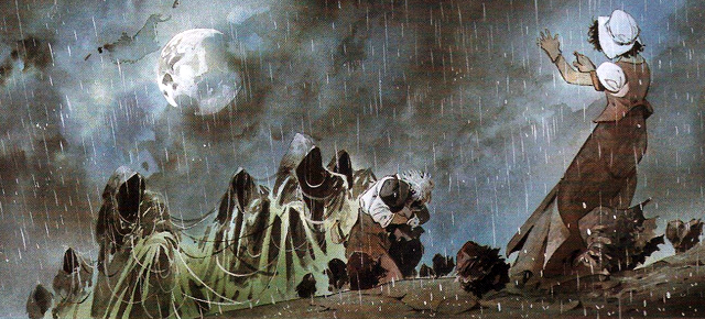 La posada del fin del mundo, Patrick Prugne/ Tiburce Oger: La tristeza en todo su color