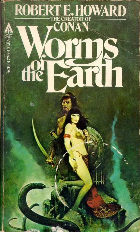 worms of the earth r.e.howard