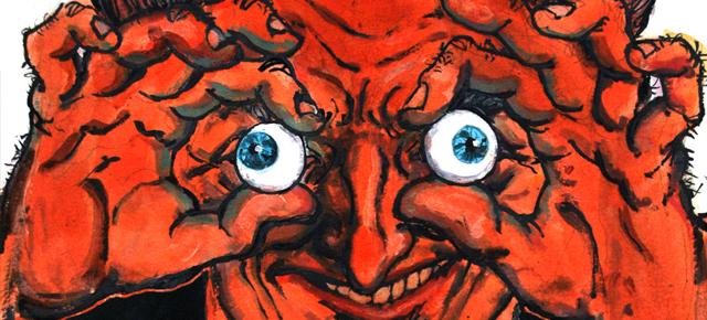 El hombre de arena, E. T. A. Hoffmann: Miradas que abrasan