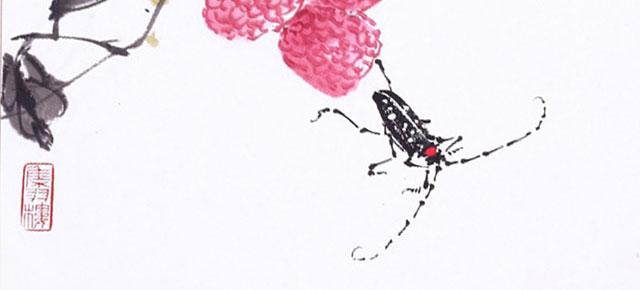 El juego de los grillos, Gustav Meyrink: La ferocidad del hombre-insecto en Occidente