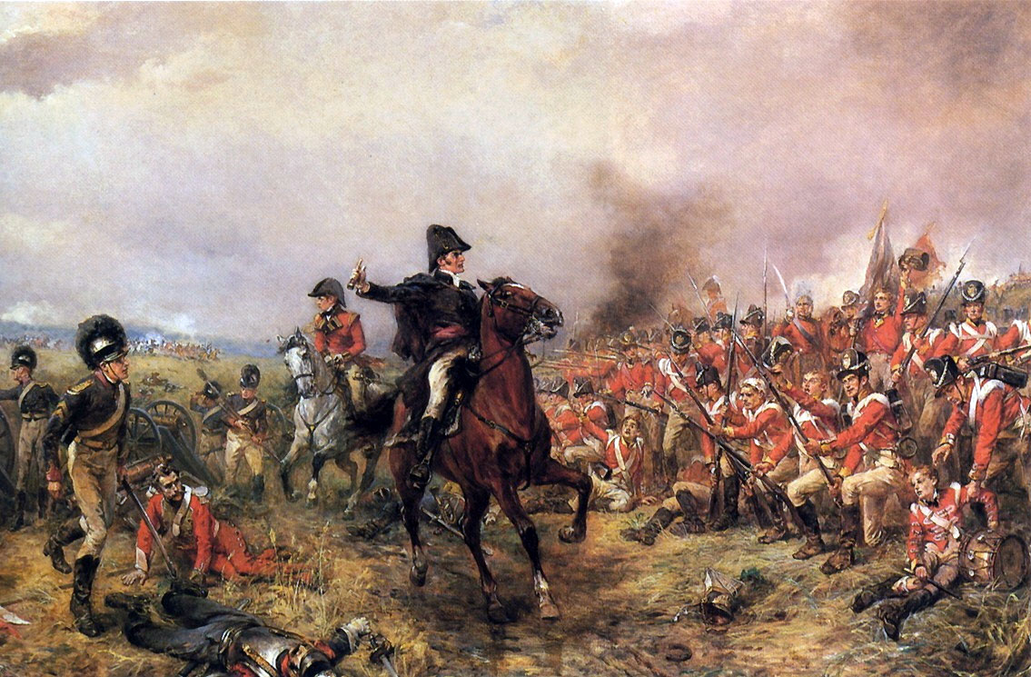 Wellington-en-Waterloo,-Robert-Alexander-Hillingford
