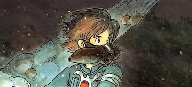 Nausicäa del Valle del Viento, Hayao Miyazaki: Manga fiero y suave