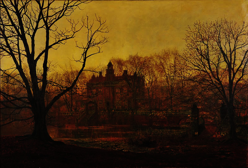 John Atkinson Grimshaw, In the Gloaming, 1878. Mercer Art Gallery, Harrogate.
