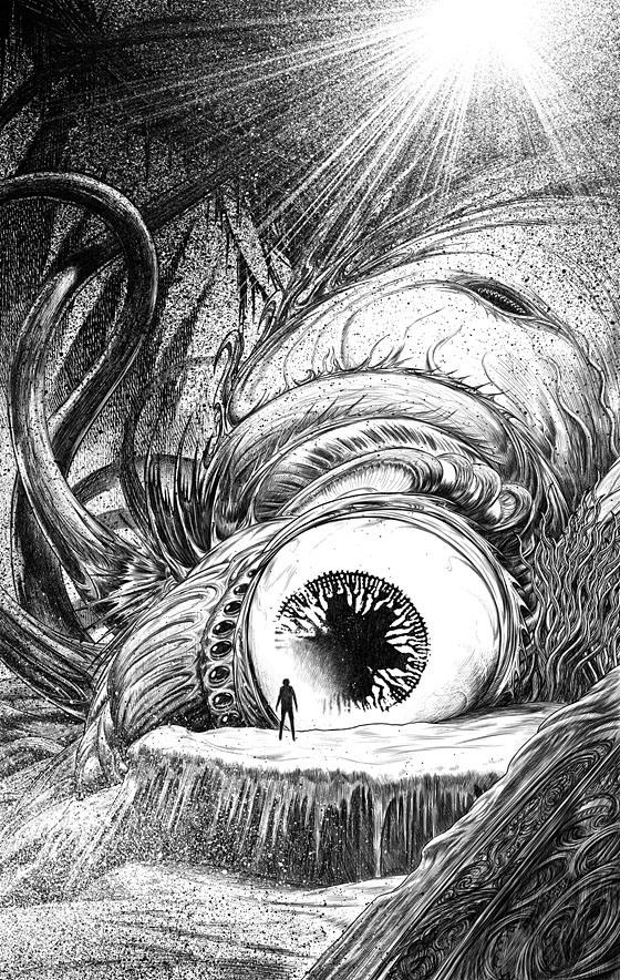 John Coulthart, from Lovecraft's Monsters, Ellen Datlow, 2014.