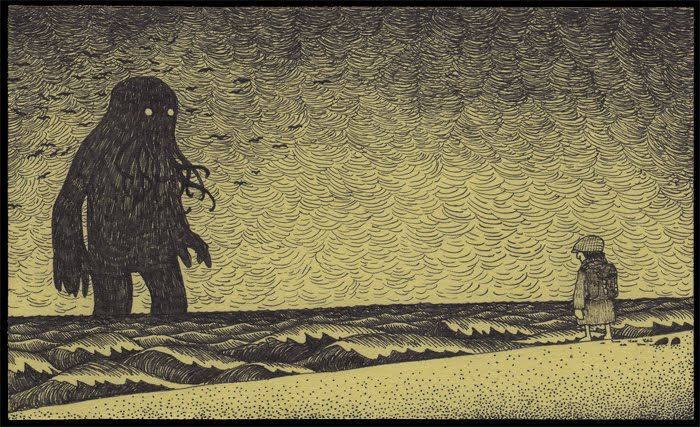 John Kenn Mortensen. Post-It Monstres