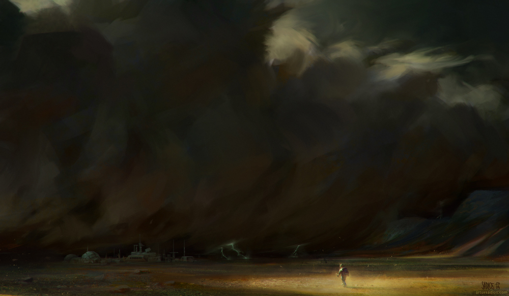 The Martian by Artur Sadlos